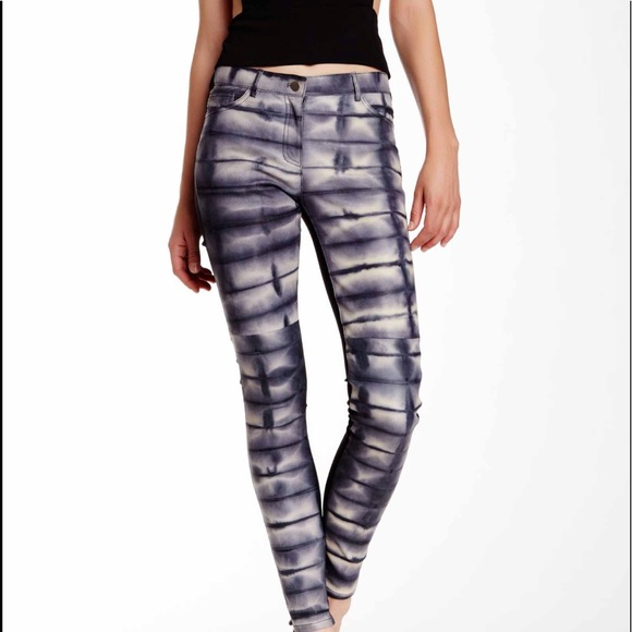 57c39d9c25e2 Nicole Miller Pants | Lambskin Leather Skinny Pant | Poshmark